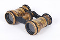 Antique binoculars  Royalty Free Stock Photo