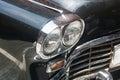 Antique Black car Royalty Free Stock Photo