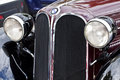 Antique BMW 315 car front view, detail Royalty Free Stock Photo