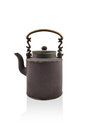 Antique brass kettle Royalty Free Stock Photo