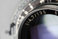 Antique camera lens Royalty Free Stock Photo