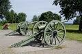 Antique Cannons In Lappeenranta.
