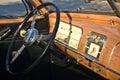 Antique Car Dashboard