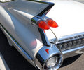 Antique car taillight Royalty Free Stock Photo