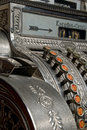 Antique cash register Royalty Free Stock Image