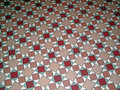 Antique Ceramic Tile Pattern Floor Royalty Free Stock Photo