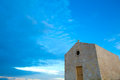 Antique chapel in malta a dingli europe Royalty Free Stock Photos