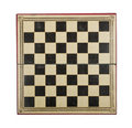 Antique chess board Stock Photos