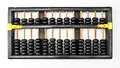 Antique Chinese Abacus Stock Photos
