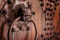 Antique chinese door knocker Royalty Free Stock Images