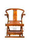 Antique chinese folding chair made in the th century Royalty Free Stock Photography