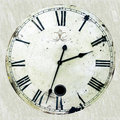 Antique clock Stock Image
