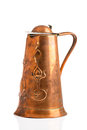 Antique Copper Jug Royalty Free Stock Photo