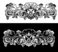 Antique Design Ekement Engraving Royalty Free Stock Photos