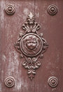 Antique door ornament Royalty Free Stock Photos