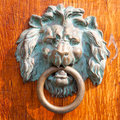 Antique doorknocker Royalty Free Stock Photo