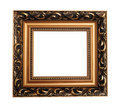 Antique empty picture frame Royalty Free Stock Photo
