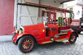 Antique Fire Truck Royalty Free Stock Photography