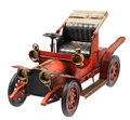 Antique firetruck car Royalty Free Stock Photo