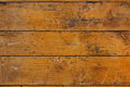 Antique floorboards wood worm background Royalty Free Stock Photo