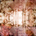 Antique Floral Background Royalty Free Stock Image