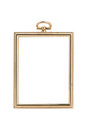Antique frame. Isolated image. Royalty Free Stock Photos