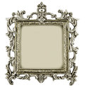 Antique frame isolated on white background Royalty Free Stock Photography