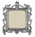 Antique frame isolated on white background Stock Photography