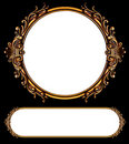 Antique frames Royalty Free Stock Photo