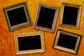 Antique frames Stock Photo