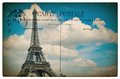 Antique French Postcard From P...
