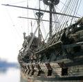 Antique galleon Royalty Free Stock Photo
