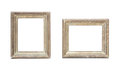 Antique golden picture frame Royalty Free Stock Photo