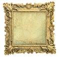 Antique Golden Picture Frame W...