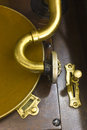 Antique Gramophone Phonograph 6 Royalty Free Stock Photo