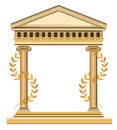 Antique Greek Temple Stock Photography
