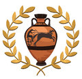 Antique Greek Vase Royalty Free Stock Photo