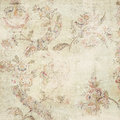 Antique grunge floral background Royalty Free Stock Photo