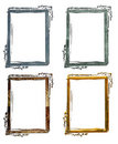 Antique Grunge Frames Royalty Free Stock Photo