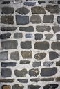Antique grunge old gray stone wall masonry Royalty Free Stock Image