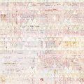 Antique grungy french invoice collage background in pastel colors Royalty Free Stock Photo