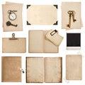 Antique Grungy Paper Sheets, B...