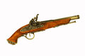 Antique gun eighteenth-nineteenth centuries. Royalty Free Stock Photography