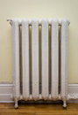Antique Heat Radiator Royalty Free Stock Photo