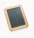 Antique individual chalkboard vintage small wood framed vertical Royalty Free Stock Photos