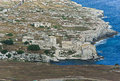 Antique industry aerial view of in syracuse sicily Royalty Free Stock Photo