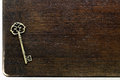 Antique key Royalty Free Stock Photos