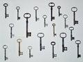 Antique Keys 19. Royalty Free Stock Photo