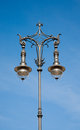 Antique lamp post in berlin germany Stock Photo