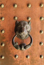Antique Lion's Head Door Knocker